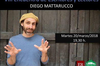 VII encuentro de escritores y lectores - mattarucco en Rivas
