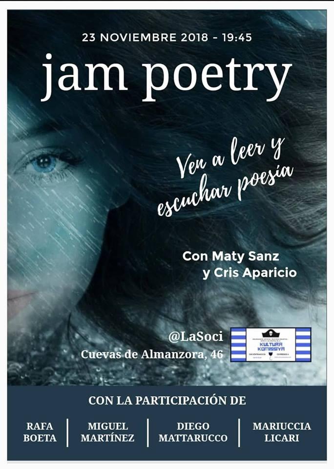 jam poetry diego mattarucco