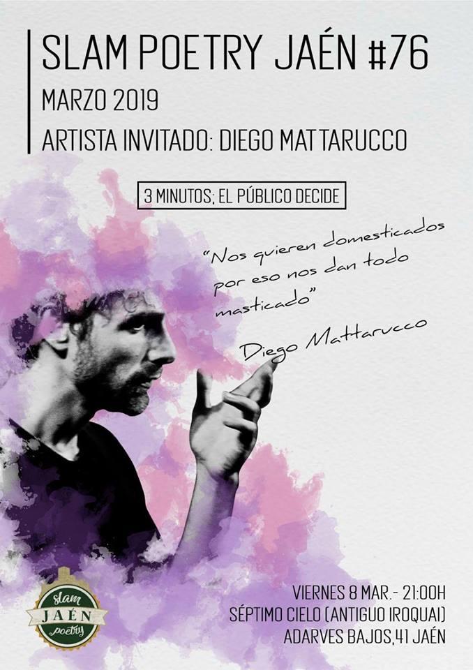 poetry slam jaen diego mattarucco