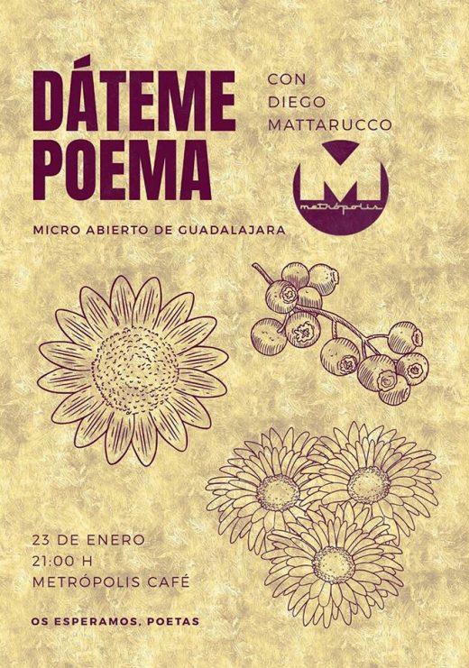 micro abierto guadalajara - poesía diego mattarucco